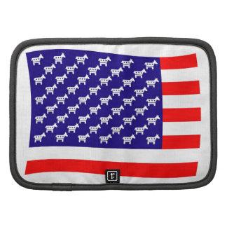 Bandera de las barras y estrellas de Demócrata Organizadores