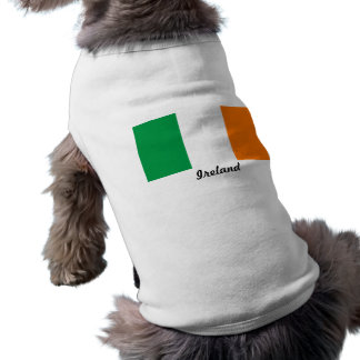 Bandera de las camisetas sin mangas acanaladas del camisetas de mascota