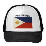 Bandera de las Filipinas Gorras