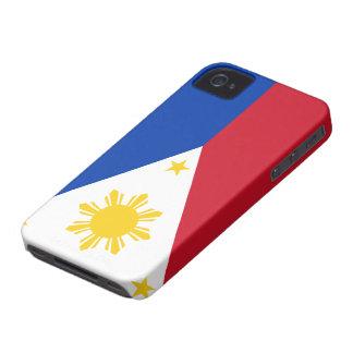 Bandera de las Filipinas iPhone 4 Carcasas