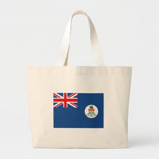 Bandera de las Islas Caimán Bolsa Tela Grande