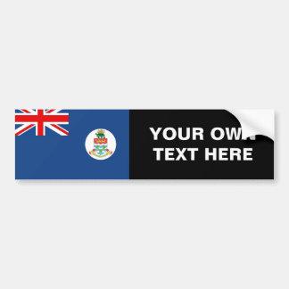 Bandera de las Islas Caimán Pegatina Para Auto