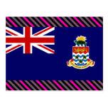 Bandera de las Islas Caimán Postales