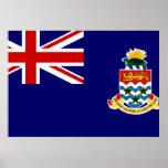 Bandera de las Islas Caimán Posters
