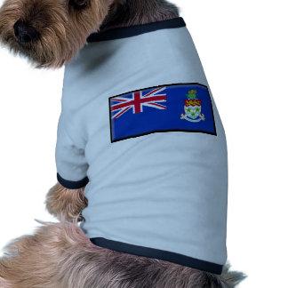 Bandera de las Islas Caimán Camisa De Perro