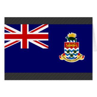 Bandera de las Islas Caimán Felicitación