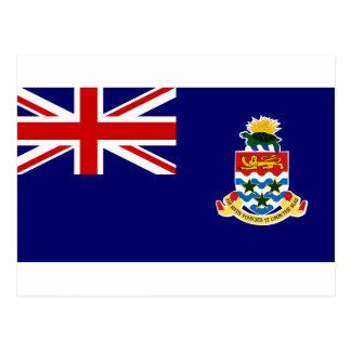 Bandera de las Islas Caimán Postal