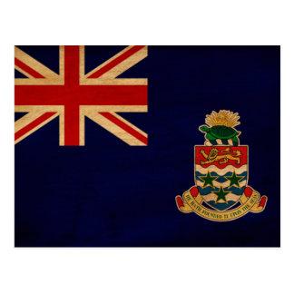 Bandera de las Islas Caimán Tarjetas Postales