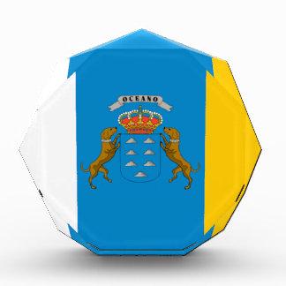 Bandera de las islas Canarias España
