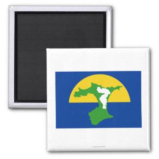 Bandera de las islas de Chatham Imán Cuadrado