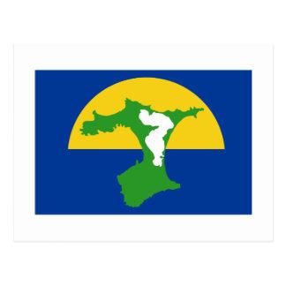 Bandera de las islas de Chatham Postal