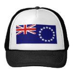 Bandera de las islas de cocinero gorra