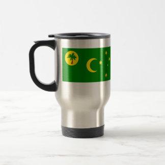 Bandera de las islas de Cocos, Australia Taza De Viaje