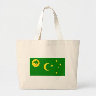 Bandera de las islas de Cocos Bolsas