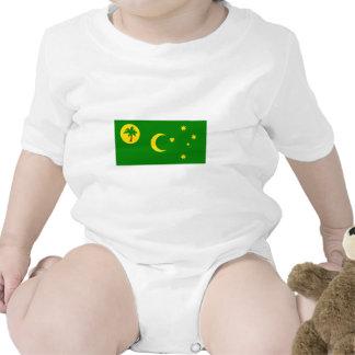 Bandera de las islas de Cocos Traje De Bebé