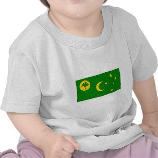 Bandera de las islas de Cocos Camisetas