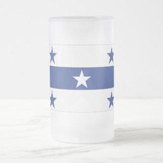 Bandera de las islas de Gambier Taza De Cristal