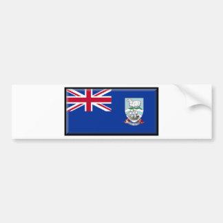 Bandera de las islas de Malvinas Pegatina Para Auto