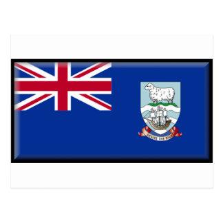Bandera de las islas de Malvinas Tarjeta Postal