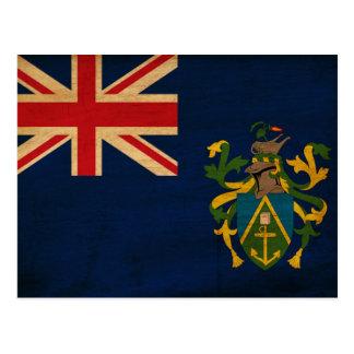 Bandera de las islas de Pitcairn Postales