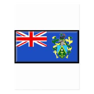 Bandera de las islas de Pitcairn Tarjeta Postal
