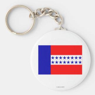 Bandera de las islas de Tuamotu Llaveros