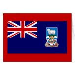 Bandera de las Islas Malvinas Felicitación