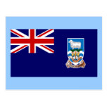 Bandera de las Islas Malvinas Postal