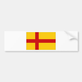 Bandera de las Islas Orcadas de Reino Unido Pegatina De Parachoque