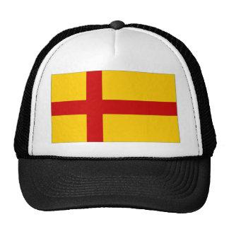 Bandera de las Islas Orcadas de Reino Unido Gorros