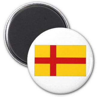 Bandera de las Islas Orcadas de Reino Unido Imán De Frigorifico
