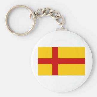 Bandera de las Islas Orcadas de Reino Unido Llavero Personalizado