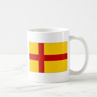 Bandera de las Islas Orcadas de Reino Unido Tazas De Café