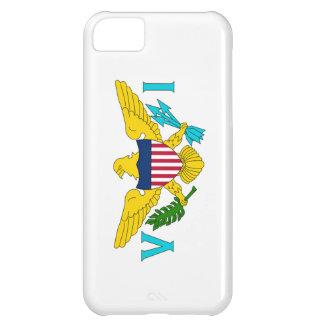 Bandera de las Islas Vírgenes de los E.E.U.U. Carcasa iPhone 5C