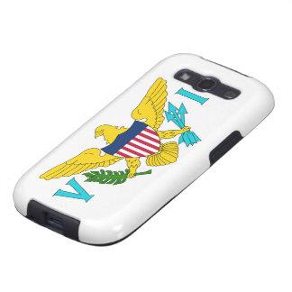 Bandera de las Islas Vírgenes de los E.E.U.U. Galaxy S3 Protector