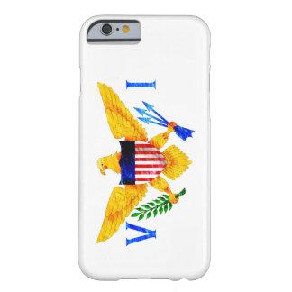BANDERA DE LAS ISLAS VÍRGENES DE LOS E.E.U.U. FUNDA PARA iPhone 6 BARELY THERE