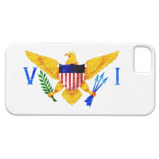 BANDERA DE LAS ISLAS VÍRGENES DE LOS E.E.U.U. iPhone 5 FUNDA