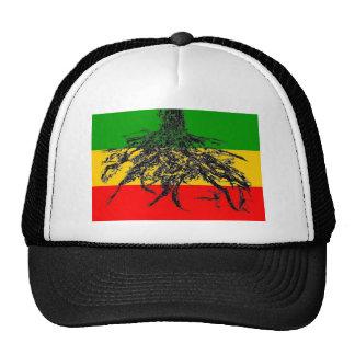 Bandera de las raíces gorras de camionero