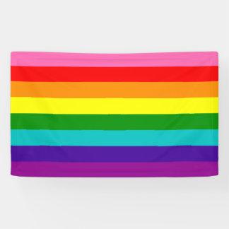 Bandera de las rayas de la original 8 del orgullo lona