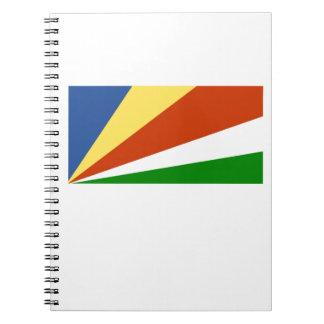Bandera de las Seychelles Libros De Apuntes