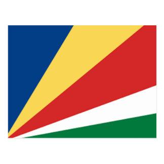 Bandera de las Seychelles Postales