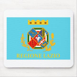 Bandera de Lazio Italia Tapete De Raton