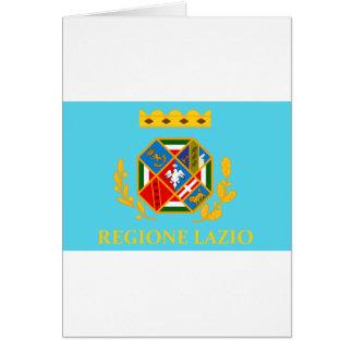 Bandera de Lazio (Italia) Felicitaciones