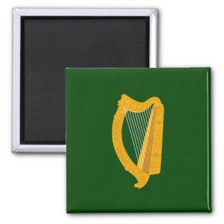 Bandera de Leinster Imán Cuadrado