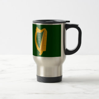 Bandera de Leinster (Irlanda) Taza Térmica