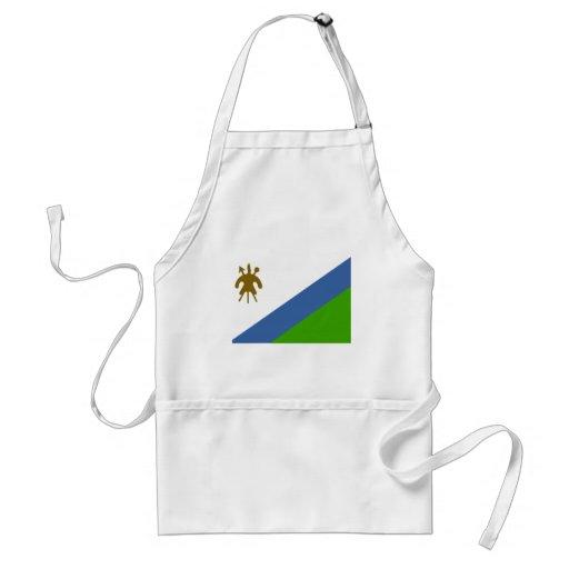 Bandera de Lesotho Delantales