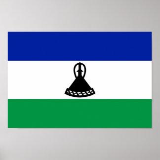 Bandera de Lesotho Póster