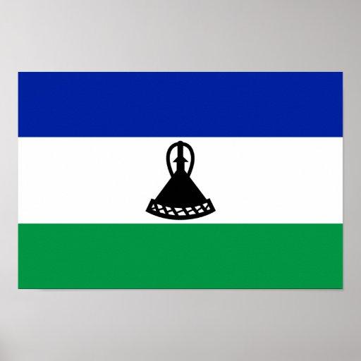 Bandera de Lesotho Posters