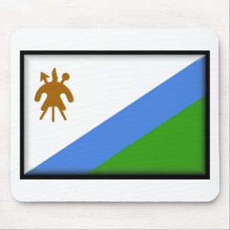 Bandera de Lesotho Alfombrillas De Ratón