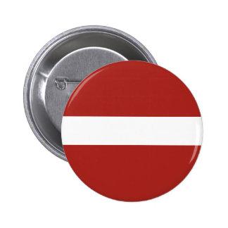 Bandera de Letonia Pin Redondo De 2 Pulgadas